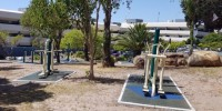 New outdoor gym for District Six campus