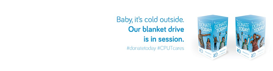 SPREAD THE WARMTHDonate a blanket or two