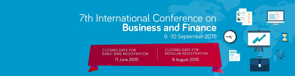 ICBF 20157th International Conference on Business and Finance