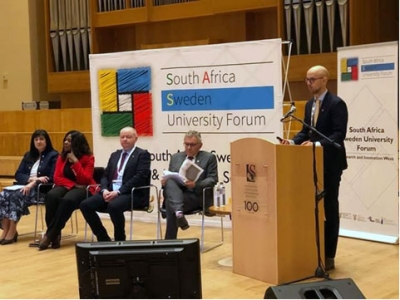 INTERNATIONALISATION: Some of the presenters at this year's South Africa/Swedish University Forum Conference which was held at Stellenbosch University.