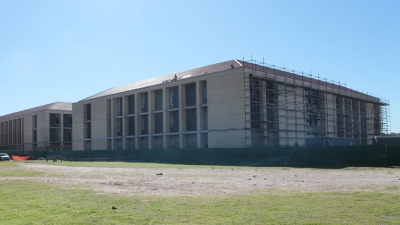 BIG AND BOLD: The new home for the Electrical Engineering Department on the Bellville Campus