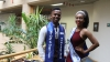 WINNING DUO: Third-year students Apiwe Zokufa and Asavela Tshaka have been crowned this year's Mr and Miss City of Cape Town, respectively.