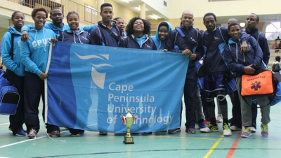 ON THE BALL: Team CPUT showed determination during the University Sports South Africa handball tournament which finished this week at the Bellville Campus