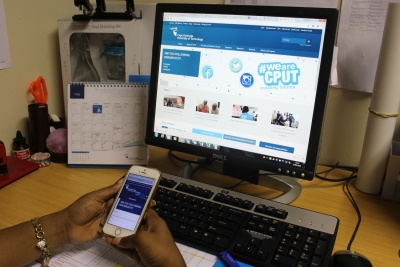 TECH SAVVY: Prospective students say they prefer the new CPUT's online application system to the old manual system.