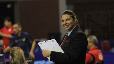 OFFICIAL: Education lecturer Genevieve Lentz will be jetting off to Napoli, Italy, at the end of June to be the Deputy Referee for Table Tennis during the World University Games.
