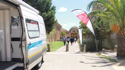 COMMUNITY WORK: CPUT's HIV Unit pulled out all the stops last year to educate the university community on World Aids Day
