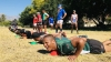 HARD AT WORK: The CPUT rugby team worked up a sweat during their training camp.