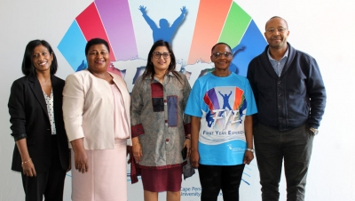 COMMITTED: CPUT recently hosted the FYE symposium.