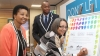 JOINING FORCES: Mayor Patricia De Lille with Dean of Students Cora Motale and SRC President Sibusiso Thwala