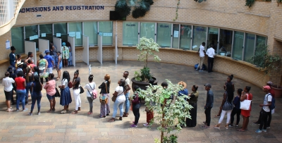 OPPORTUNITY: Walk-in applications at CPUT will be permitted from January 24 to February 2.
