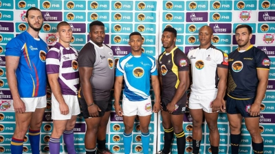 LEADING THE WAY: Lunathi Nexele (centre) is the captain of the FNB CPUT team.