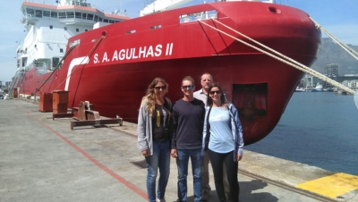 EXPLORERS: Members of the CPUT research team, which forms part of the current international collaborative research programme, investigating the responses of recovering whale populations.