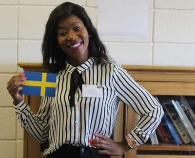 GOING ABROAD: Zanele Lurafu, a Master's student in the Department of Marketing Management, has been awarded a full scholarship to study in Sweden