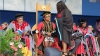 CONGRADUATION: CPUT Chancellor Thandi Modise caps a graduate during this year's Spring Graduation on the Bellville Campus