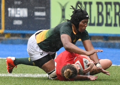 EXPERIENCE: CPUT student Nolusindiso Booi, who is also captain of the national women's rugby team, played in the 2014 Women's Rugby World Cup.