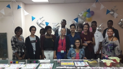 RAISING AWARENESS: MITS students participated in a World Cancer Day event