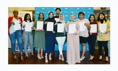 TECH SAVVY: This group of Human Resource Management graduates recently graduated on the SAP training programme offered by the CPUT-based Centre for Enterprise Resource Planning in Africa.