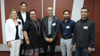 TOP CLASS: From left Drs Hanlie Dippenar, Mark Marais, Ayesha Toyer, Prof Anthony Staak, Dr Muhammad Nakhooda and Siddique Motala