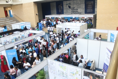 CAREER CHOICES: Thousands of learners and parents attended the Open Day on Saturday to learn about qualifications offered at CPUT and their entry requirements.