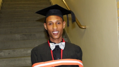 SURVIVOR: Nadeem Staggie beat untimely deaths in his family to graduate with a B Ed: FET degree in Economics and Management Sciences.