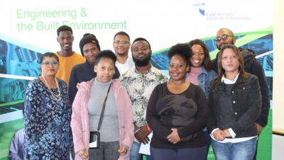 RECIPIENTS: Twenty students in the Faculty of Engineering &the Built Environment were awarded bursaries.