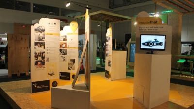 STAND ALONE: The CPUT stand at Design Indaba is accessible from 360⁰