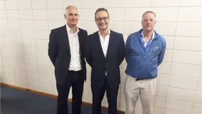 TRAILBLAZERS: Hjalmar Mulder, an experienced IT consultant, as well as CPUT's Prof Thomas Thurner, Research Chair: Innovation in Society, and Prof Ken Findlay, Research Chair: Oceans Economy, spoke at the launch of the Big Data and Digital Innovation Research Focus Group