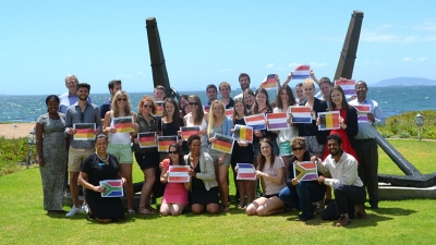 ENJOYING CPUT: The students who joined the Faculty of Business and Management Sciences this semester as part of the international exchange programme are from universities in Austria, Belgium, Germany and the Netherlands