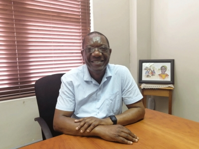 COLLABORATIONS: Libraries' Director, Dr Elisha Chiware says CPUT is recognised as one of the leaders in contributions towards the growth and development of regional and international librarianship.