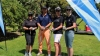PUTTING GREEN: Cathy Cloete, CPUT's Events Manager, SANDF's Captain Angelo Kriger, Sport Management lecturer Juanita Stoop and student Nicolette Bester enjoyed themselves during the recent Student Golf Day.